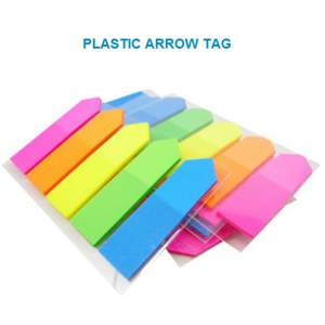 Sticky Notes, Arrow Tag ( Plastic )  - 125 sheets