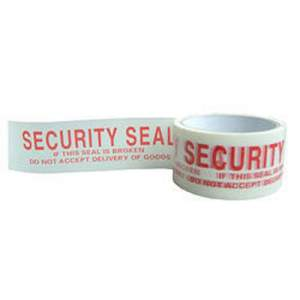 Security Printed Tape, 57mm X 50 yards