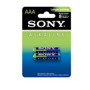 Sony Alkaline Battery AAA - 2Pcs