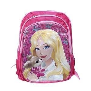 Oxford Fabric School Bag - Barbie